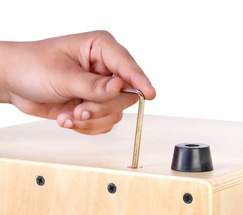 Adjusting Snare Clapbox Cajon CB25