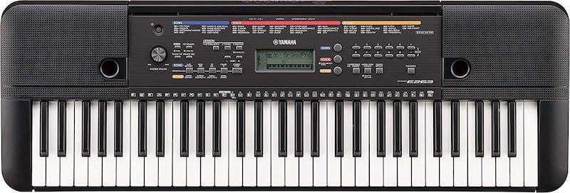 Yamaha PSR-E263 61-Key Portable Keyboard jpg